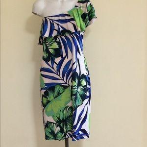 Joseph Ribkoff Leaf Dress